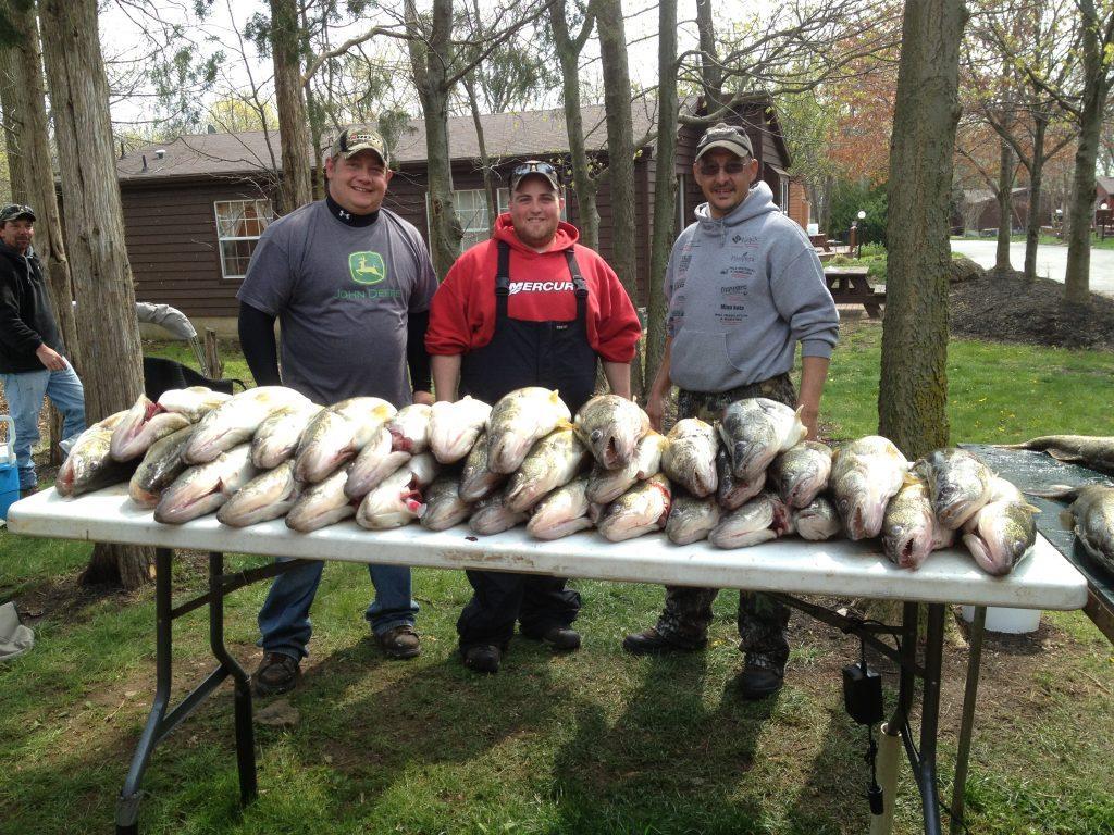 Put-in-Bay Spring Walleye Fishing