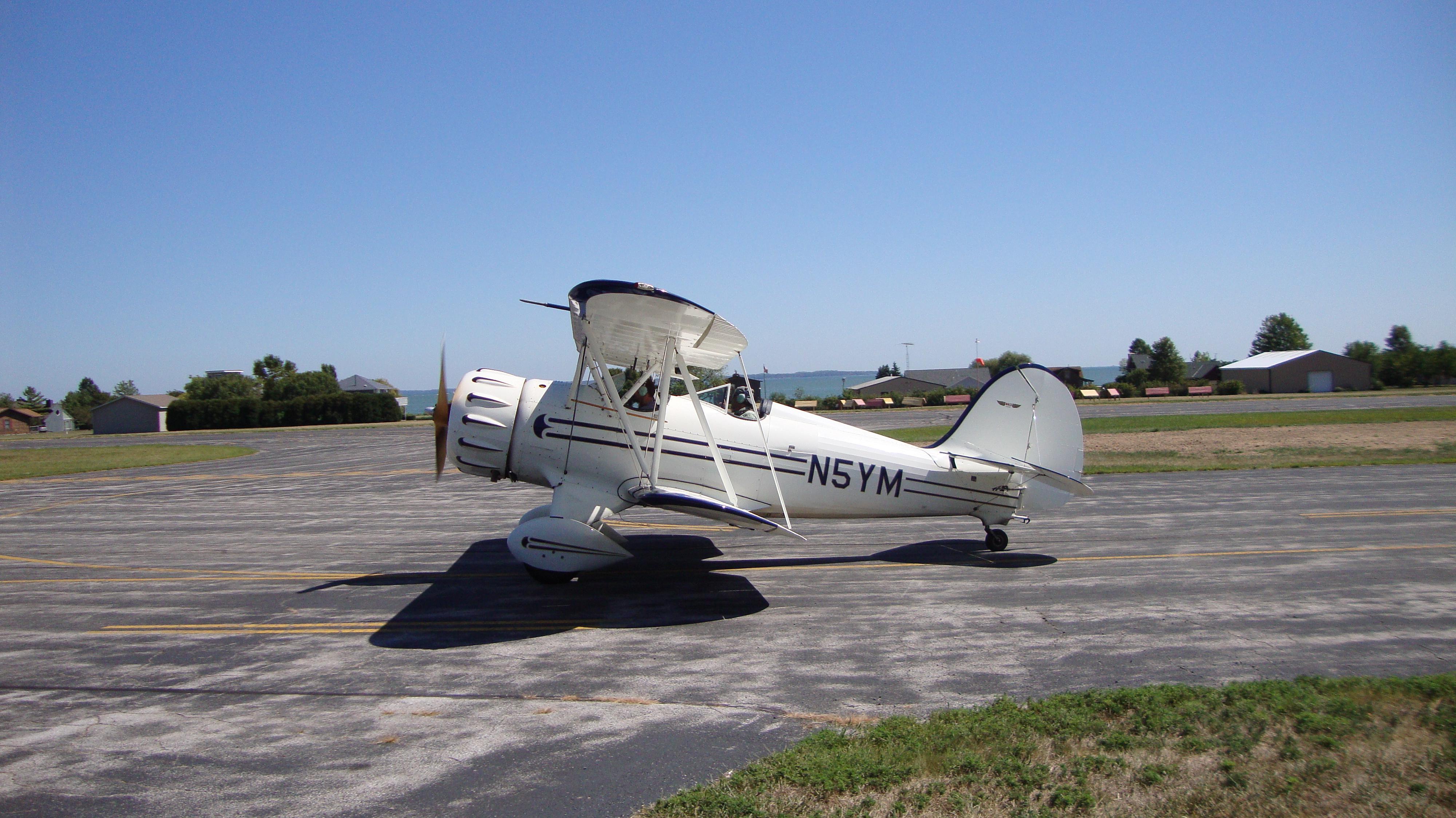 Biplane Rides