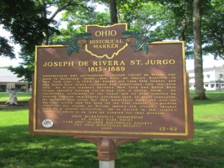 Jose DeRivera Park in Downtown Put-in-Bay Ohio