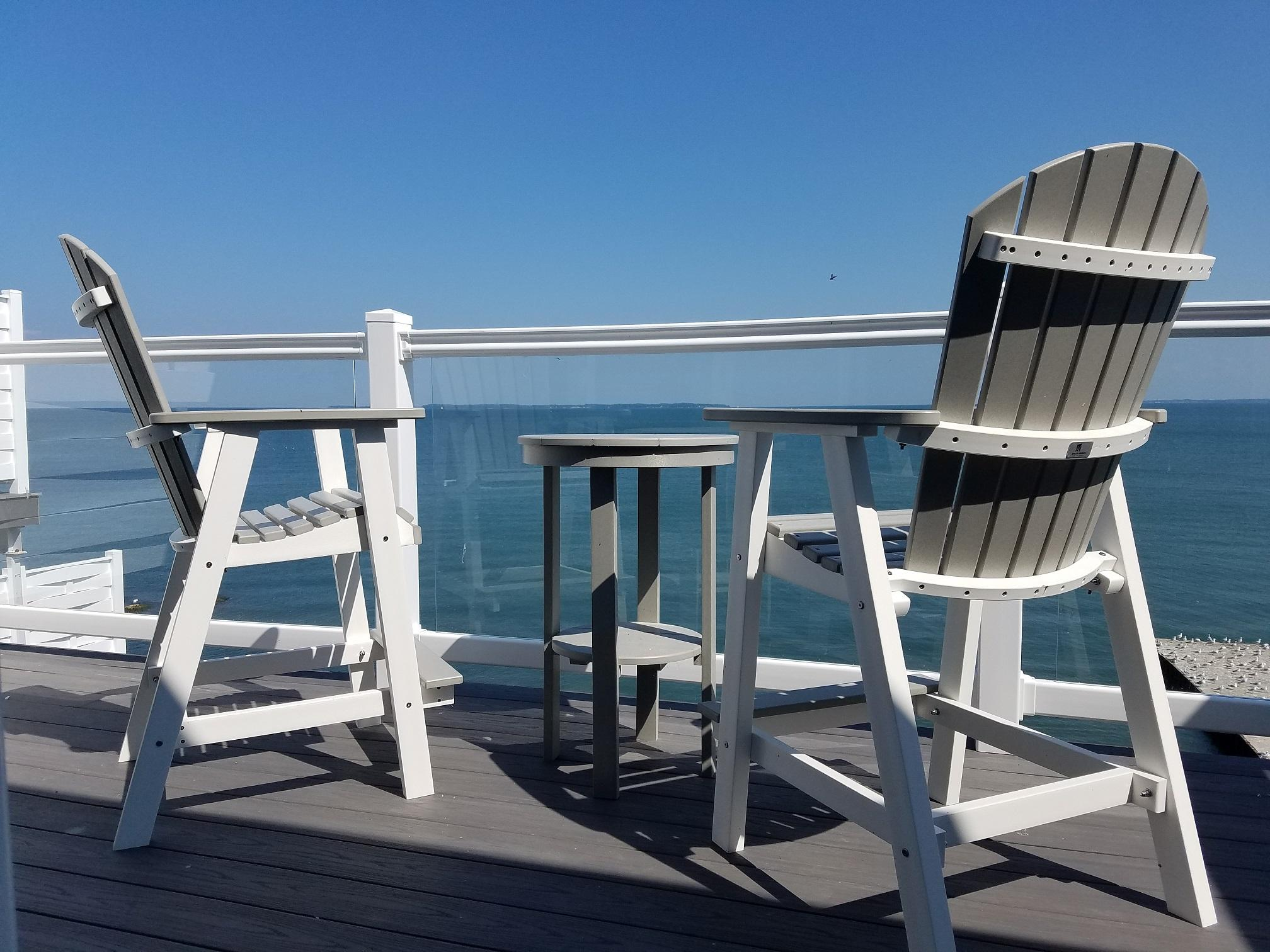 Put-in-Bay Waterfront Condos Private Deck