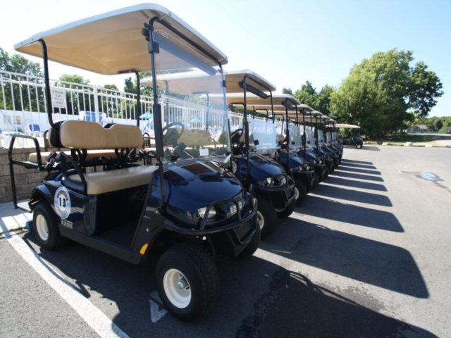 Put-in-Bay Condos 4-Person Golf Cart