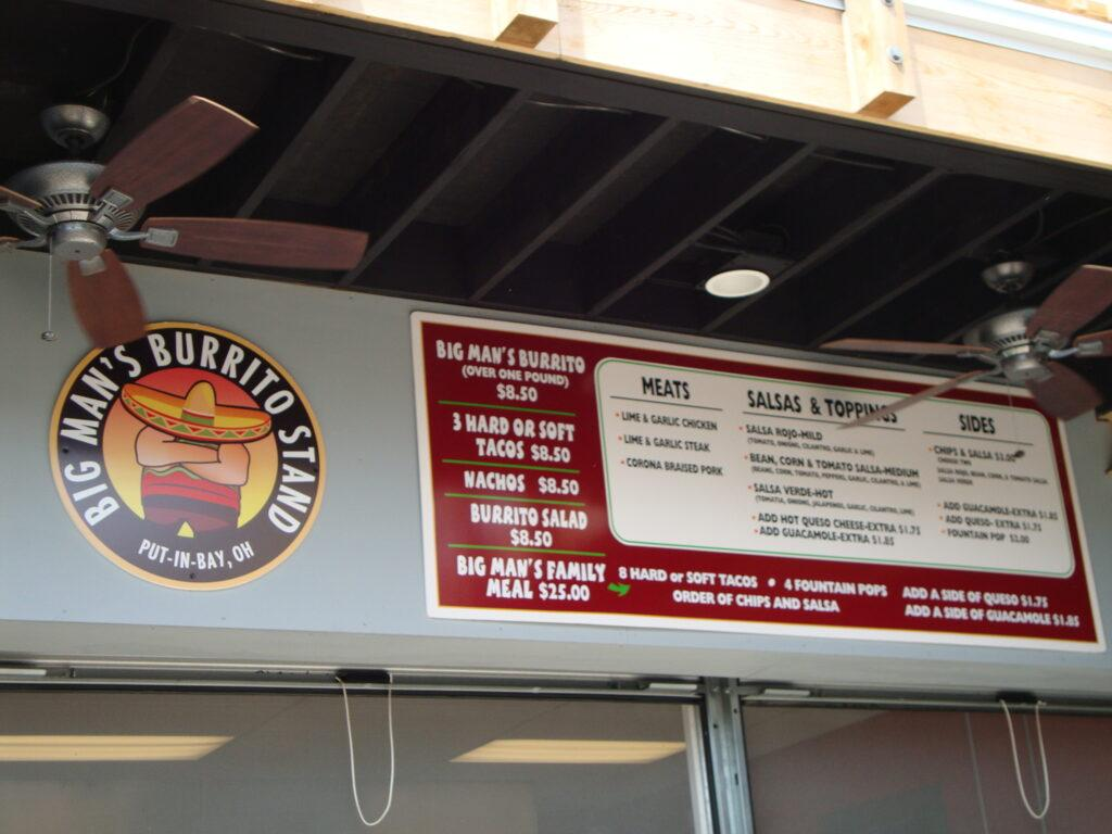 Big Mans Burrito Stand
