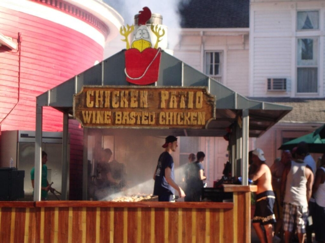 Chicken Patio