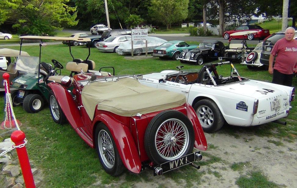 Sunday Afternoon Antique Car Parade