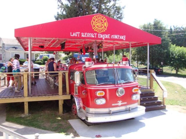 Last Resort Firetruck Bar