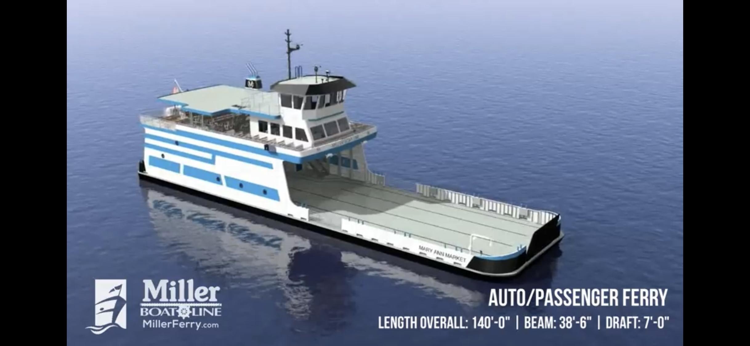 New 2020 Miller Ferry