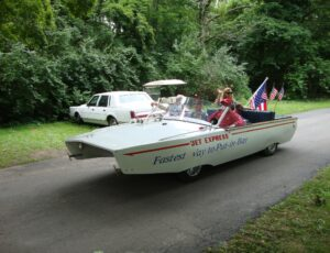Historical Grand Parade at Put-in-Bay Ohio